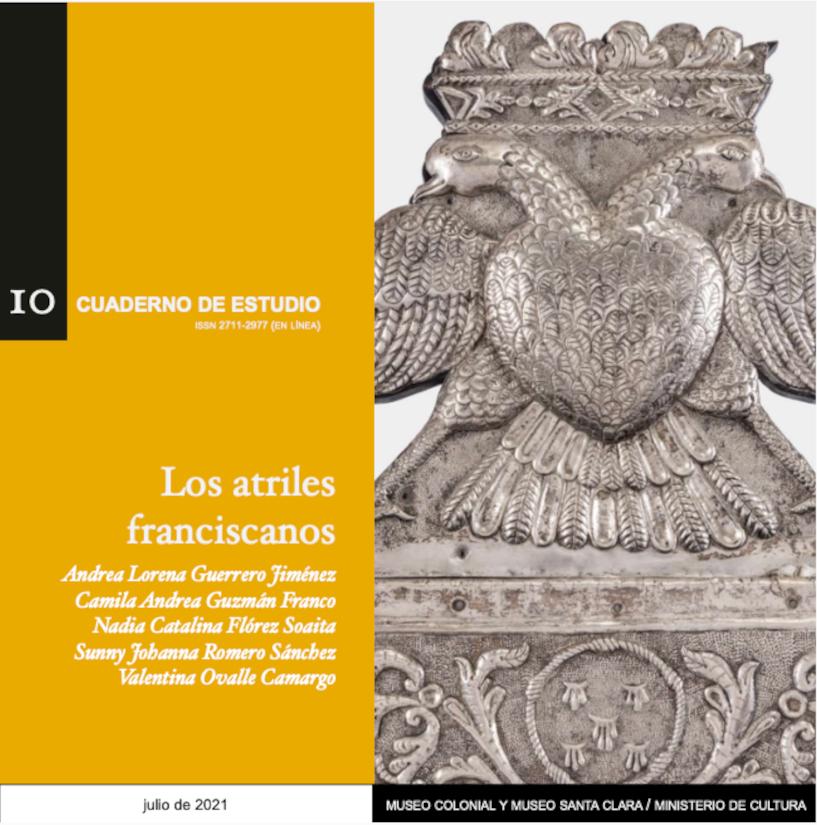 Cuaderno de estudio 10. Los atriles franciscanos.