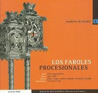 Cuaderno de estudio 5 – Los faroles procesionales